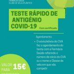 NOVA PARCERIA: CVA e Farmácia Saúde de Leça da Palmeira